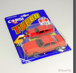 CORGI Turbo Blister-Karte